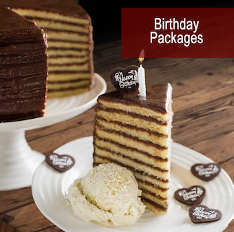 Smith Island Cake birthday packages